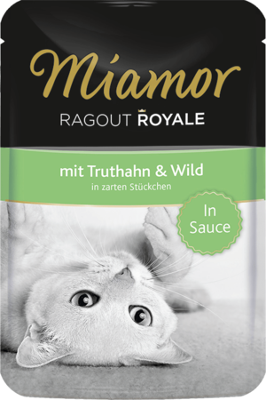 Miamor Ragout Royale in Sauce Truthahn & Wild 100g