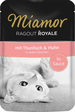 Miamor Ragout Royale in Sauce Thunfisch & Huhn 100g