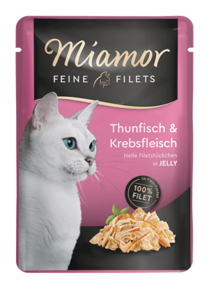 Miamor Feine Filets in Jelly Thun & Krebs  100g