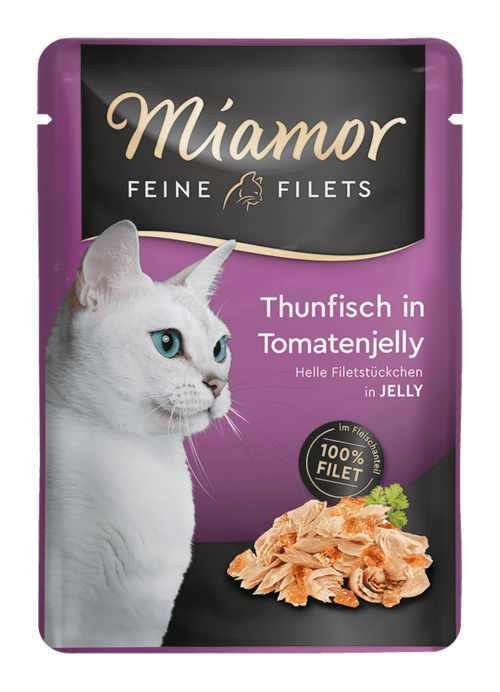 Miamor Feine Filets in Jelly Thunfisch in Tomatenjelly  100g