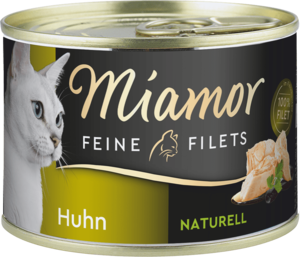 Miamor Feine Filets naturelle Huhn  156g