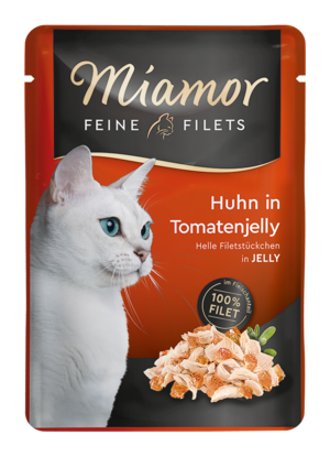 Miamor Feine Filets in Jelly Huhn in Tomatenjelly  100g