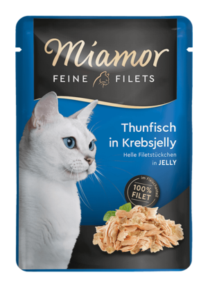 Miamor Feine Filets in Jelly Thunfisch in Krebsjelly  100g