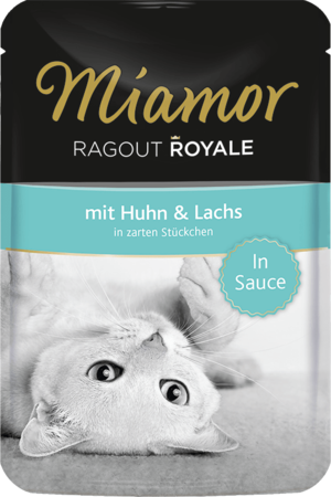 Miamor Ragout Royale in Sauce Huhn & Lachs 100g