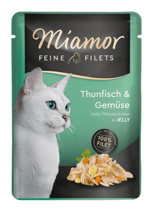 Miamor Feine Filets in Jelly Thun & Gemüse  100g