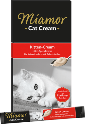 Miamor Cat Snack (Cream) Kitten-Milch-Cream 5x15g