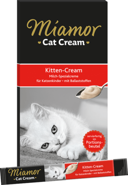 Cat Snack (Cream) - Kitten-Milch-Cream - Schachtel - 5x15g