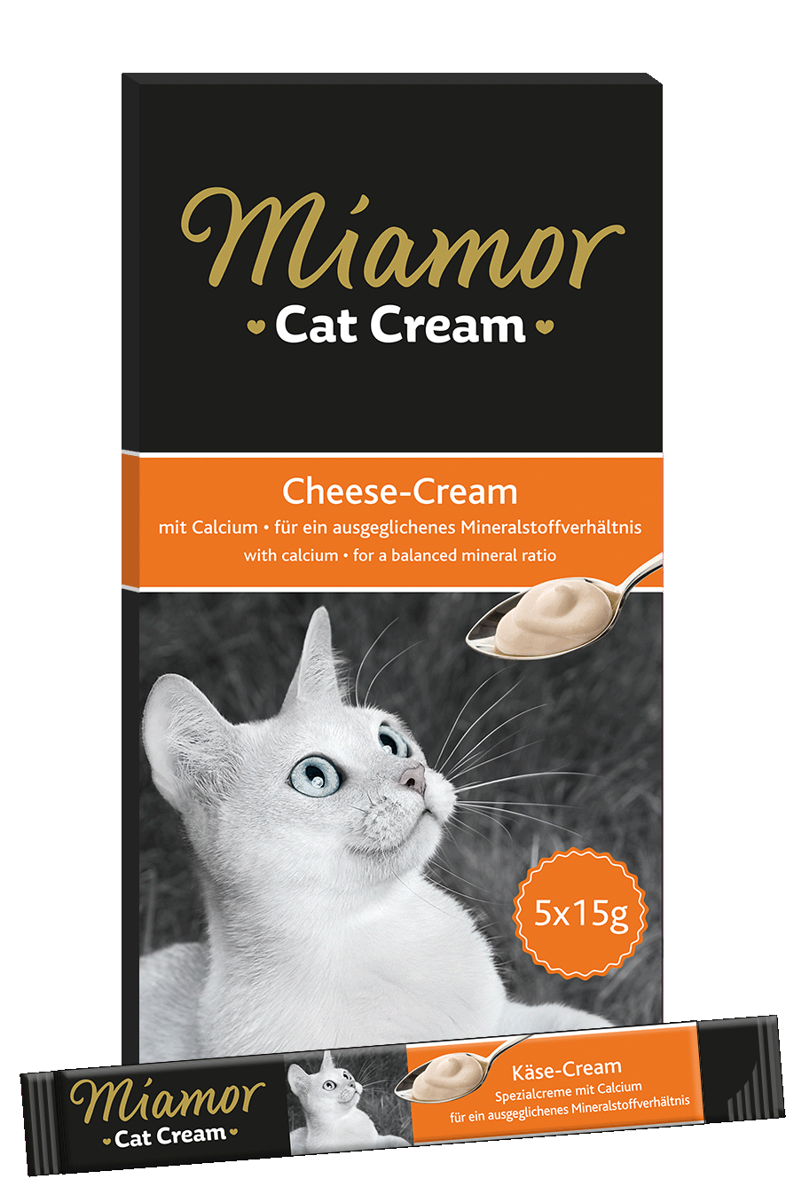 Miamor Cat Snack (Cream) Käse-Cream 5x15g